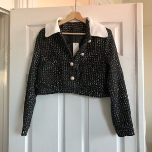 storets Jackets & Coats - Tweed jacket with pearl buttons